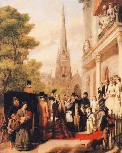 william powell frith for better for worse painting