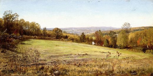 william trost richards chester county landscape painting