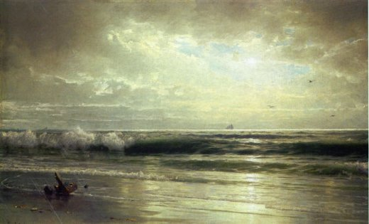 william trost richardson the coast of new jersey Painting-22360