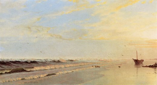 william trost richards on the shore ii paintings