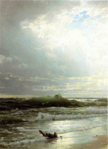 william trost richardson the shore Painting-22362