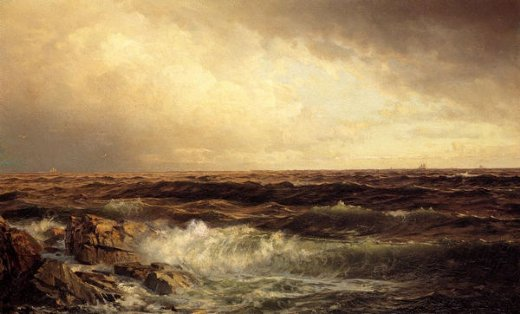 william trost richards seascape 2 painting