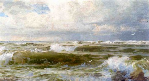 william trost richards seascape 6 painting