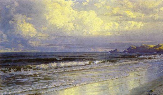 william trost richards second beach neweport painting
