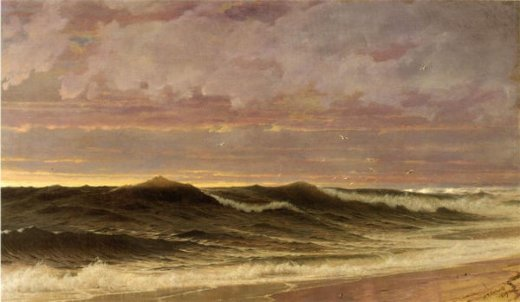 william trost richards south nantucket painting
