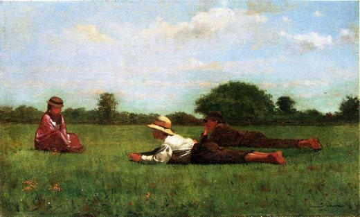 winslow homer enchanted painting