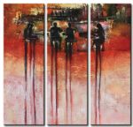 abstract acrylic paintings - 41250 by abstract