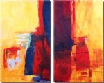 abstract acrylic paintings - 9110 by abstract
