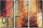 abstract acrylic paintings - 91365 by abstract