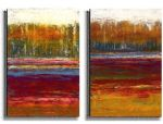 abstract olga chuqui tree line painting 81327