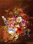 floral original paintings - floral still life by adelheid dietrich