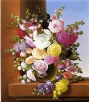 adelheid dietrich art - still life of flowers by adelheid dietrich