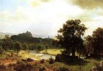 albert bierstadt day s beginning painting