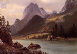 albert bierstadt rocky mountain ii prints