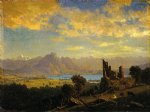 albert bierstadt scene in the tyrol paintings