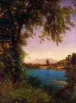 albert bierstadt south and north moat mountains painting