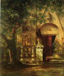 albert bierstadt sunlight and shadow painting