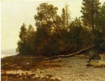 albert bierstadt the fallen tree painting 37794