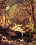 albert bierstadt the mountain brook posters