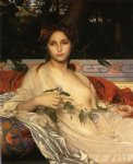 alexandre cabanel watercolor paintings - albayde by alexandre cabanel