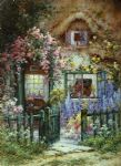 alfred de breanski original paintings - a wayside house by alfred de breanski