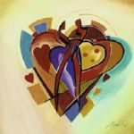american famous paintings - love american style iv by alfred gockel
