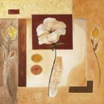 alfred gockel rustic flower collage ii painting 82203