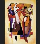 the beat goes on by alfred gockel painting