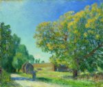 a forest clearing by alfred sisley prints