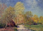 a may morning in moret by alfred sisley prints