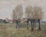 a normandy farm by alfred sisley prints