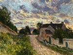 alfred sisley a path in louveciennes painting 37257