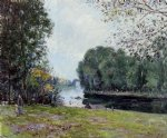 a turn of the river loing summer by alfred sisley prints