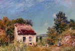 abandoned house iii by alfred sisley prints