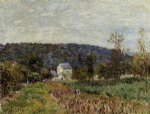 alfred sisley an autumn evening near paris print