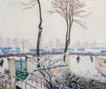 alfred sisley approach to the railway station print