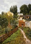 alfred sisley garden path in louveciennes painting 37326
