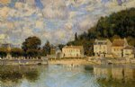 alfred sisley horses being watered at marly painting 37335