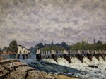 alfred sisley molesey weir paintings