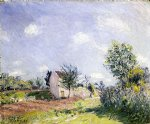 alfred sisley springtime painting