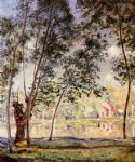 alfred sisley sunny afternoon painting