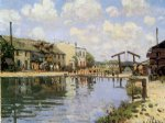 alfred sisley the canal saint painting