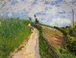 alfred sisley the hill path ville d avray art