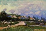 alfred sisley the laundry art