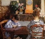 the lesson by alfred sisley acrylic paintings