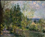 alfred sisley the road in the woods art