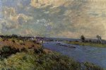 alfred sisley the seine at saint art