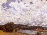alfred sisley the seine at suresnes art