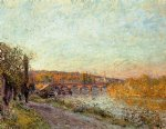 alfred sisley the sevres bridge ii art