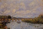 alfred sisley the sevres bridge art